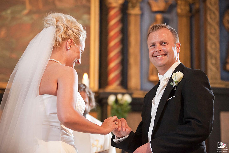 Bryllupsfotografering på Strømmen og i Oslo – Line & Trond