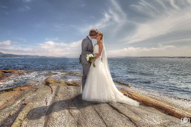 Bryllupsfotografering 2014 – Endre & Emilie – Sandefjord
