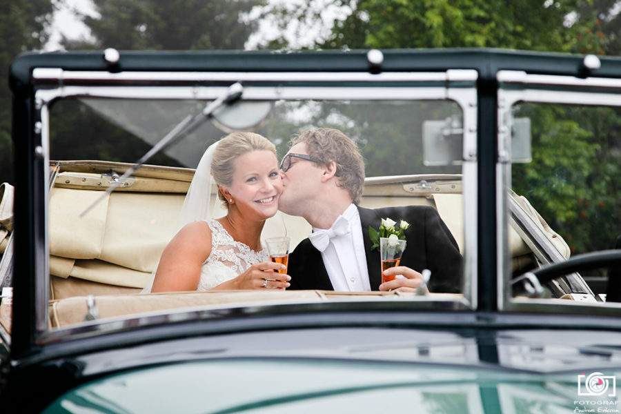 Bryllupsfotografering i Holmenkollen – Andreas & Katarina