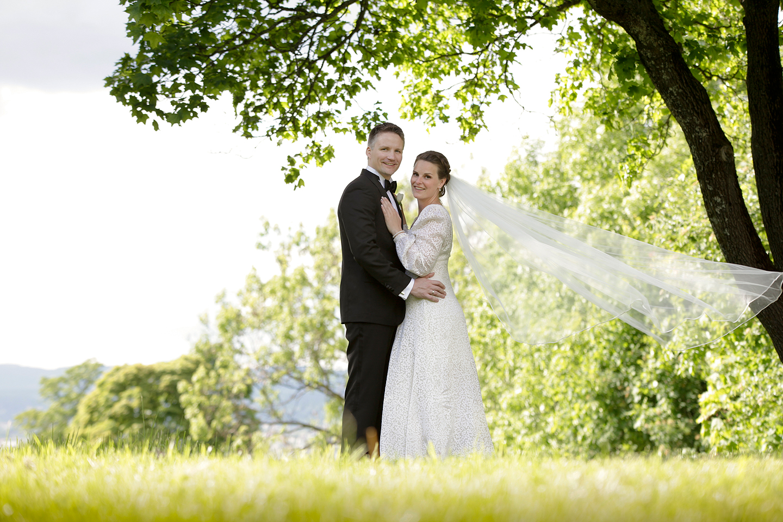 Bryllupsfotografering i Gamlebyen Kirke, Ekeberg og Bygdøy