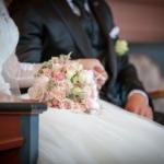 "Bryllupsfotografering i Øvrebø Kirke, Risørbank – ""Maria & Jan Ivar"""