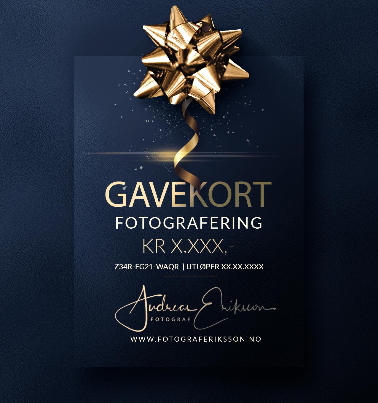 NYHET: Nå kan du bestille gavekort